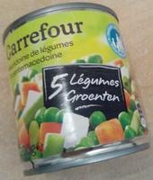 Macédoine de légumes (5 Légumes) - Produit - fr