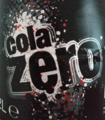 Cola zero - Producto