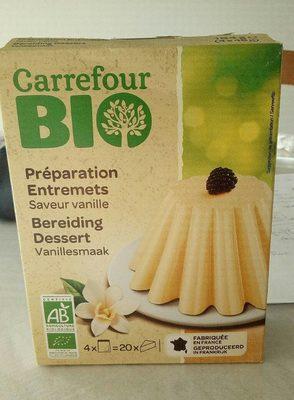 Préparation Entremets saveur Vanille - Product