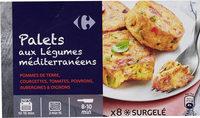 Palets de légumes à la méditerranéenne - Product
