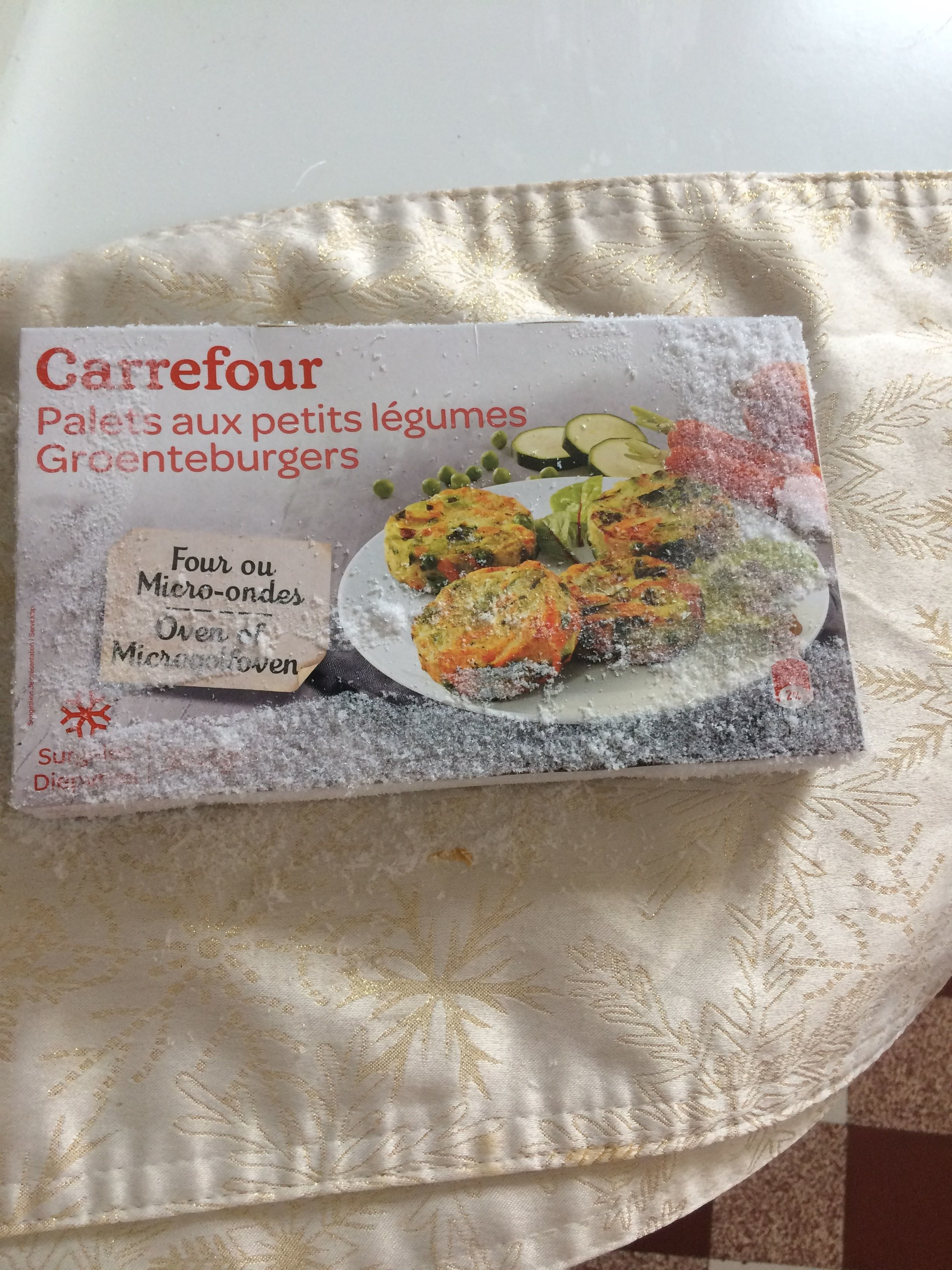 8 Palets Aux Petits Légumes - Product