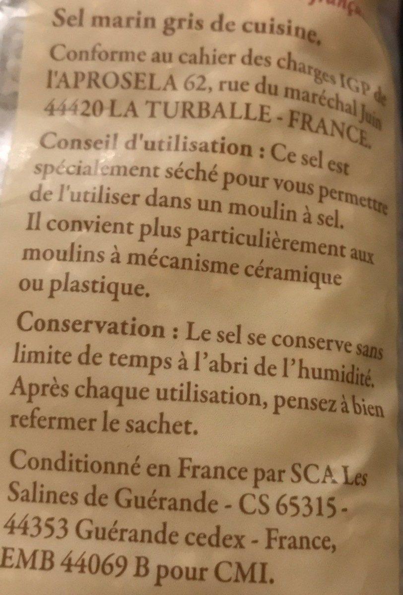 Sel de Guérande IGP - Ingrédients - fr