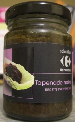 Tapenade noire Recette provencale - Prodotto - fr