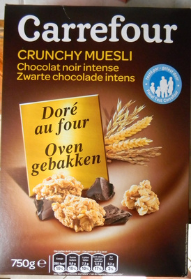 Crunchy chocolate intenso - Produit - fr