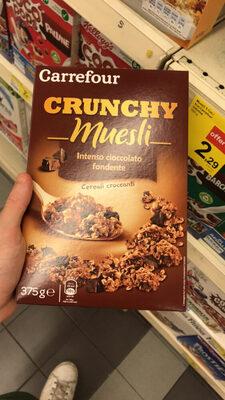 Carrefour Crunchy Muesli Chocolate - Produit