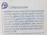 Drink MULTIVITAMINICO LIGHT - Ingredienti - it