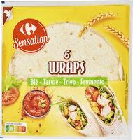6 Wraps - Prodotto - fr