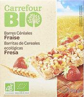 Barres céréalières Fraise - Produkt - fr
