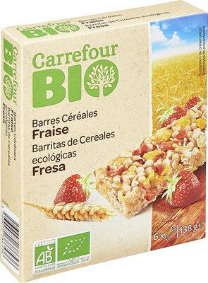 Barres Céréales Fraise - Produit - fr