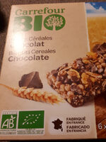 Barres céréales CRF bio chocolat - Product - fr
