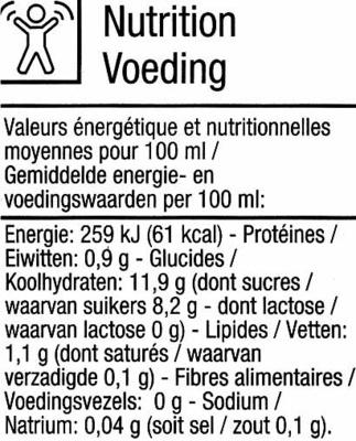 Boisson au riz thaï et quinoa Bio - Informació nutricional