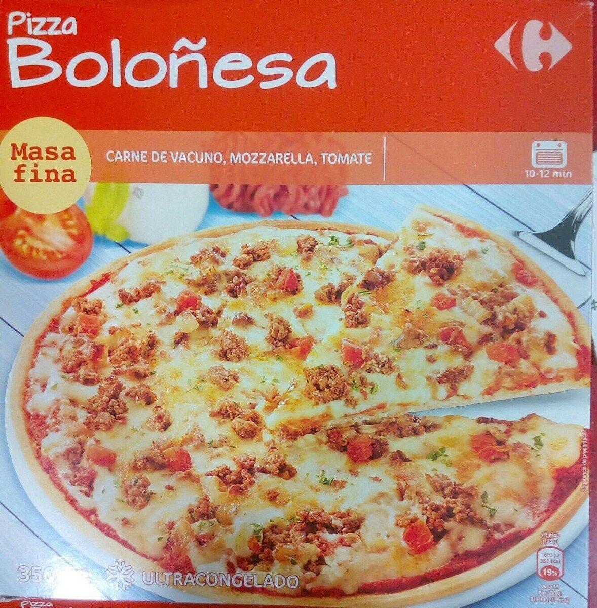Pizza Boloñesa - Product - es