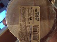 135G Perail Aveyron Lait CRR Reflets De France - Ingrediënten