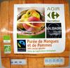 Purée de Mangues et de Pommes Bio Carrefour - Product