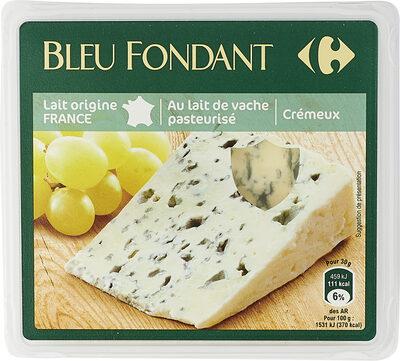 Bleu fondant au lait de vache pasteurisé - Product - fr