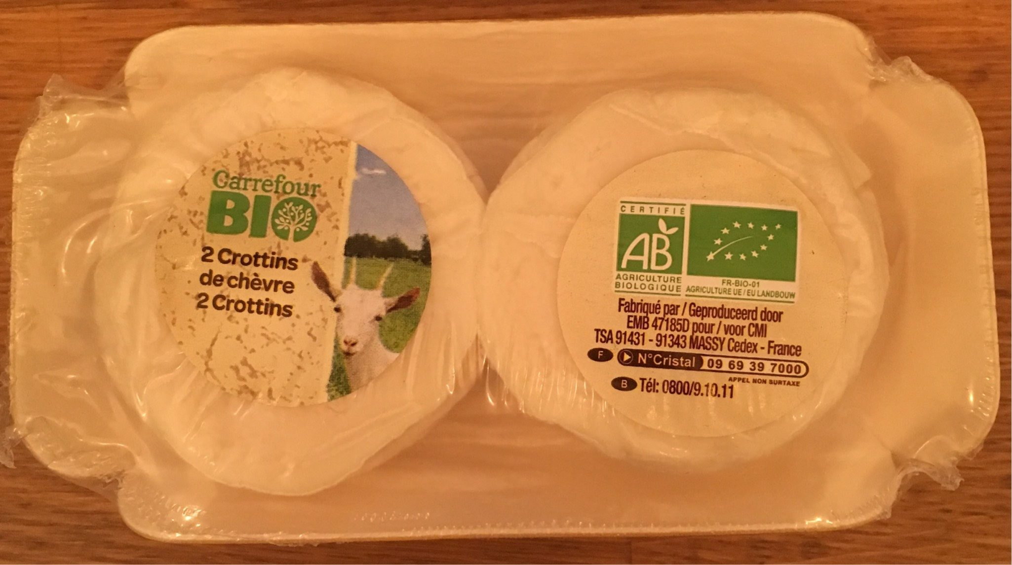 2 Crottins de chèvre - Product