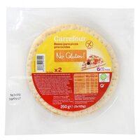 Fonds De Pizza Précuits - No Gluten - Producto - es