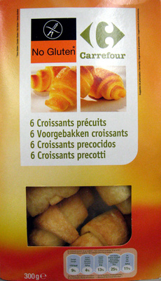 Croissant sin gluten - Produit - fr
