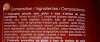 Croissant sin gluten - Ingrédients - fr