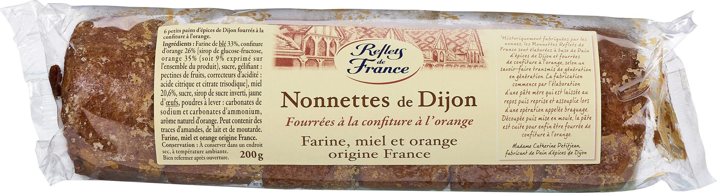 Nonnettes de Dijon Fourrées à la Confiture d'Orange - Prodotto - fr