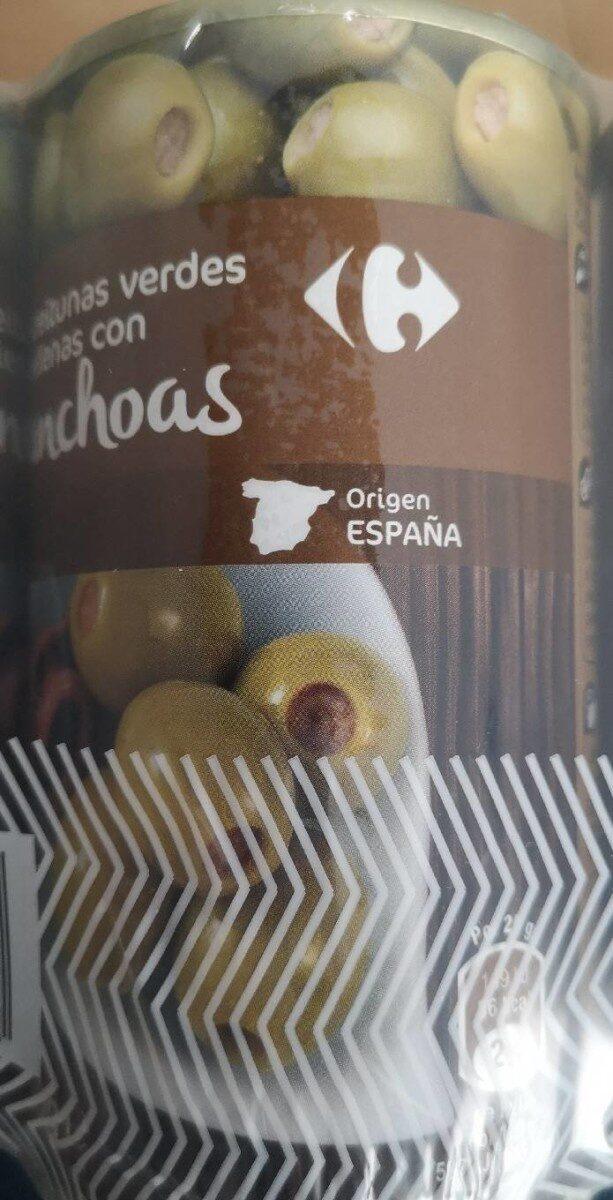 Aceitunas verdes rellenas con anchoas - Producte - es