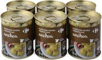 Aceituna rellena d anchoa - Produit - es