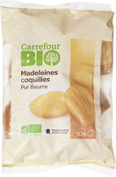 Madeleines Coquilles pur beurre. - Product - fr