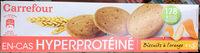 En-cas hyperprotéiné Biscuits à l'orange - Product - fr