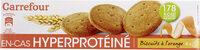 Biscuits hyperprotidiques et hypoglucidiques à l'orange - Product - fr