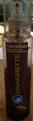 Vinaigrette en spray (Huile d'olive 70% & vinaigre balsamique 30%) 65% M.G. - Product