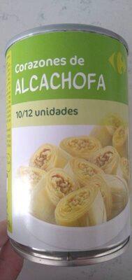 Corazones de alcachofa - Ingredients