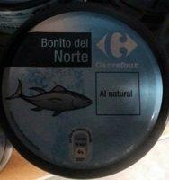 Bonite du Nord au Naturel - Produit - fr