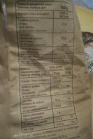 Tortilla chips - Informations nutritionnelles