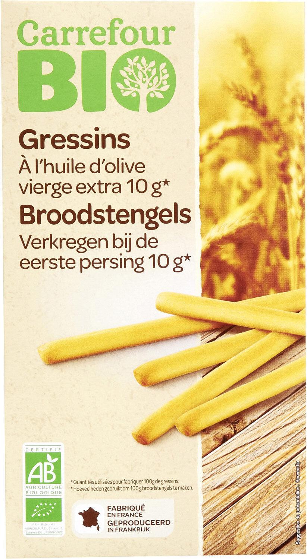 Gressins À l'huile d'olive vierge extra 10g - Prodotto - fr