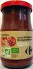 Sauce Bolognaise A la viande bovine - Produit