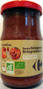 Sauce Bolognaise A la viande bovine - Product