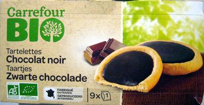 Tartelettes Chocolat Noir Bio Carrefour - Produit - fr