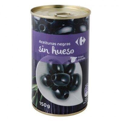 Aceituna negras s/h - Producto