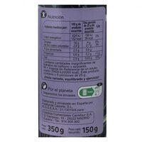 Aceituna negras s/h - Información nutricional - es
