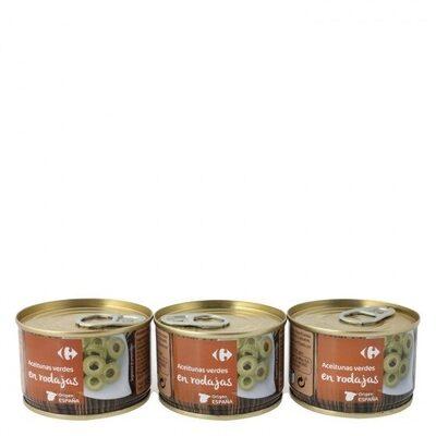 Aceituna verde en rodajas - Producte - es