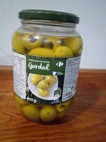 Aceitunas sin hueso gordal - Producto