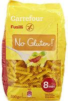 Fusilli (No Gluten*) - Product - fr