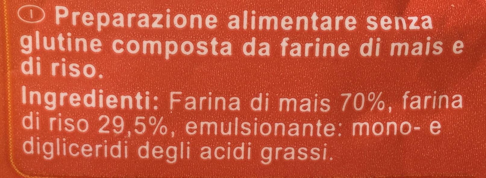 Fusilli (No Gluten*) - Ingredienti