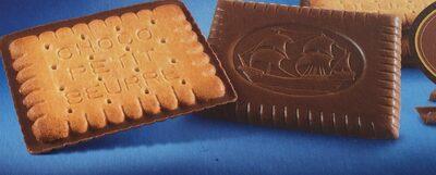 Biscuits au beurre nappés de chocolat au lait - Produit - fr