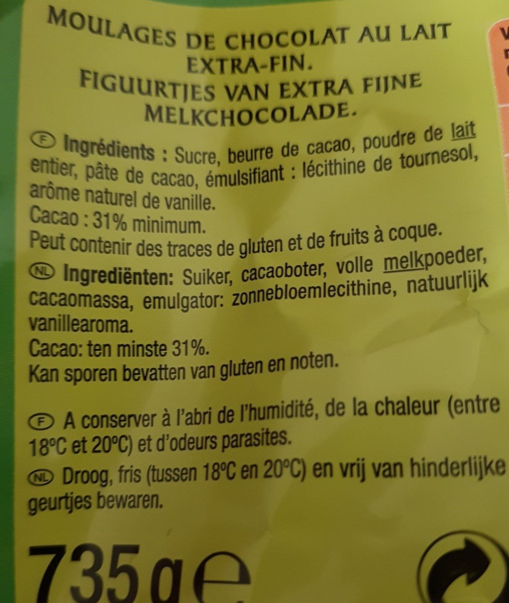Œufs a cacher - Ingredients - fr
