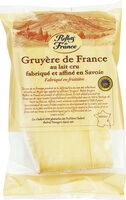 Gruyère de France au lait cru - Produit - fr