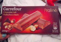 Chocolat au lait fourrage praliné - Product - fr