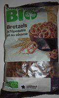 Bretzels A L'épeautre Et Au Sesame - Product - fr