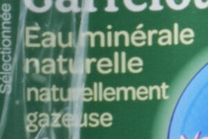 Eau finement pétillante - Ingredients - fr