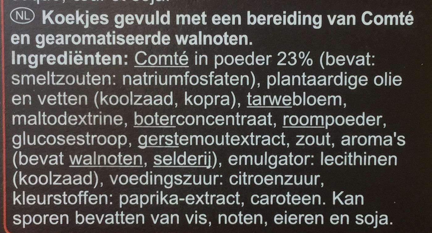 Crêpettes - Ingrediënten - nl
